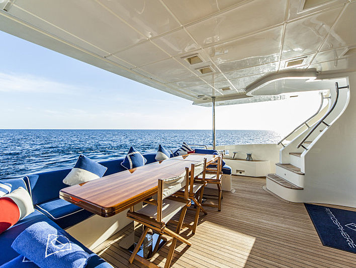 Atmosphere yacht aft deck