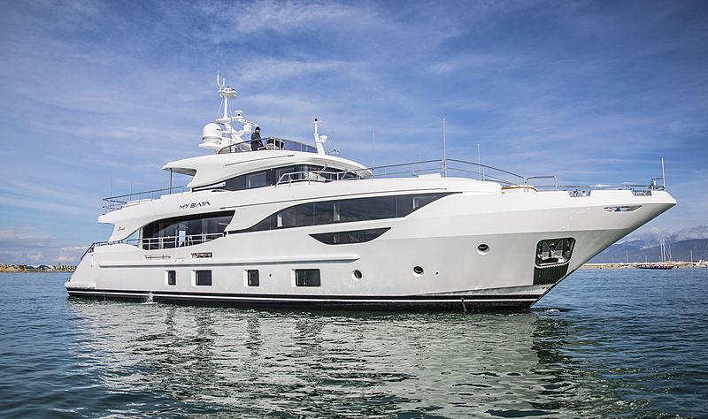 Baya yacht in Viareggio