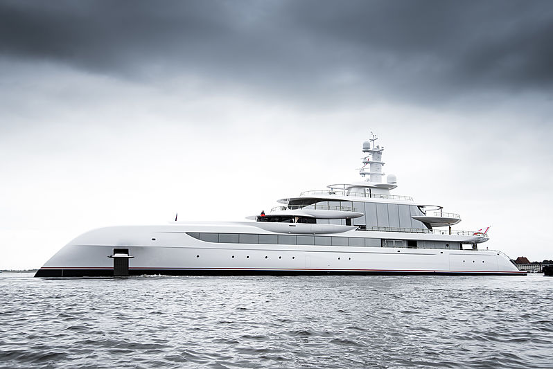 Excellence yacht by Abeling & Rasmussen launch