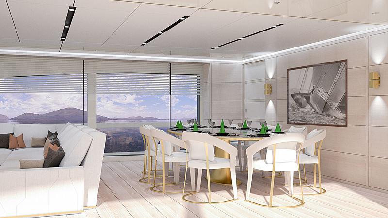 Maiora 30M yacht interior design