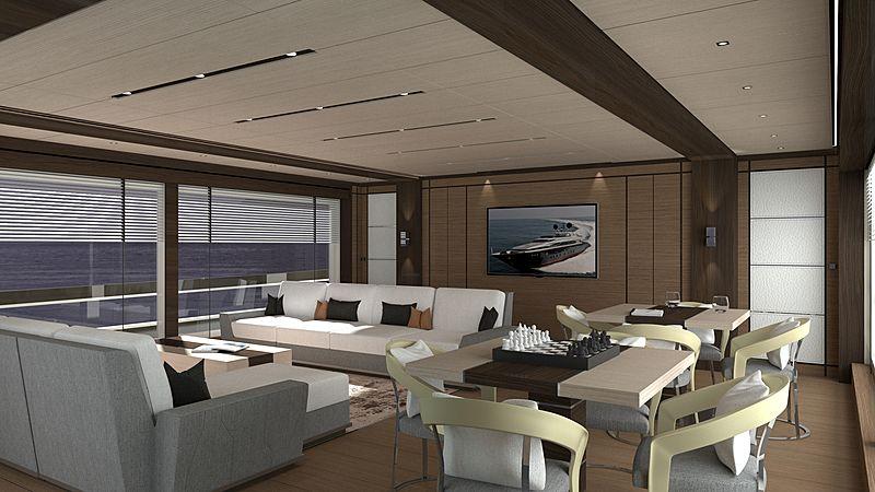 Maiora 34M yacht interior design