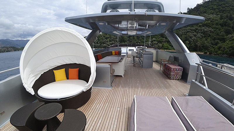 Meya Meya Yacht Sun Deck