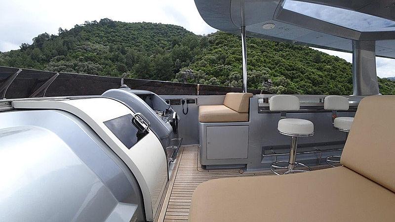 Meya Meya Yacht flybridge