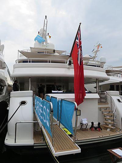 Deja Too yacht in Barcelona