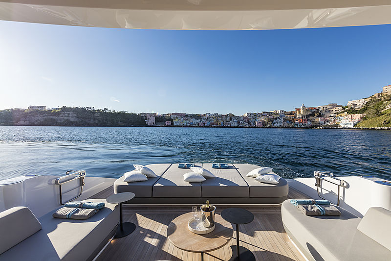 ISA Extra 76 One yacht deck