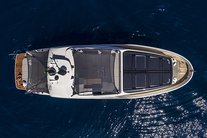 ISA Extra 76 One yacht Aerial