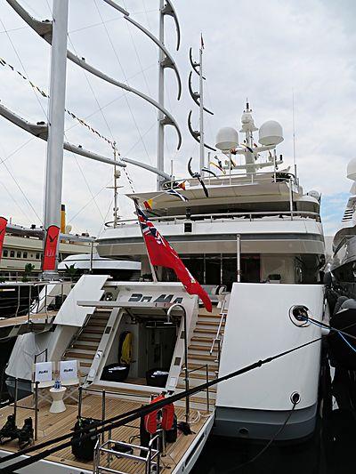 RoMa yacht in Barcelona