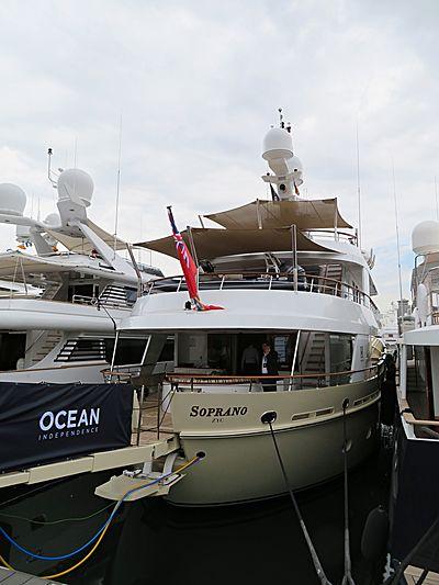 Soprano yacht in Barcelona