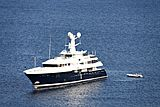 Kaiser yacht off Bodrum