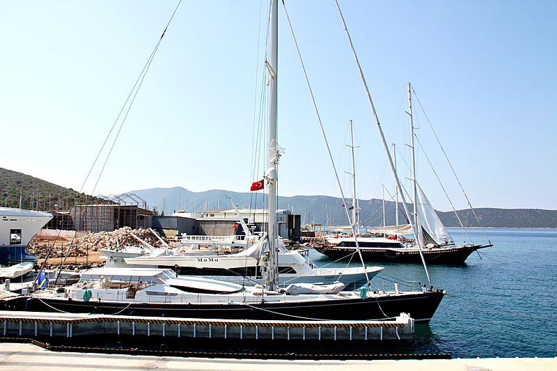 MUMU yacht R.B.Dereli