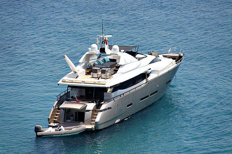Ozone yacht off Bodrum