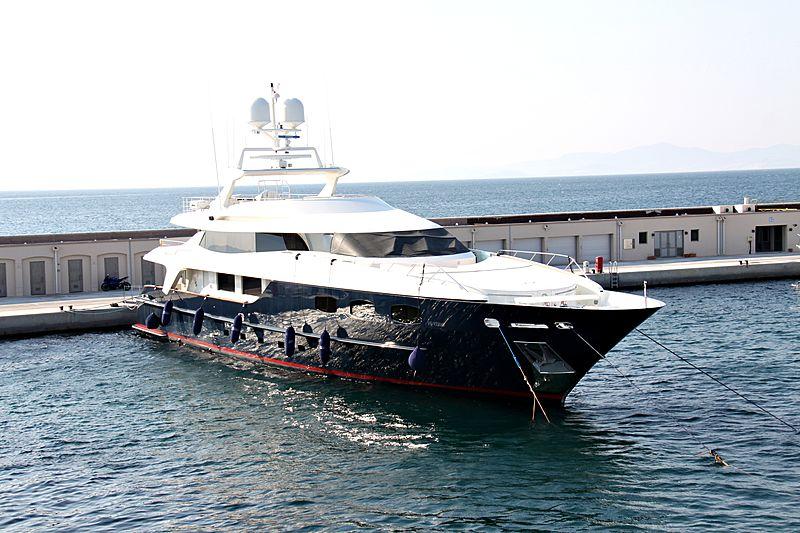 BLUE SCORPION yacht Baglietto