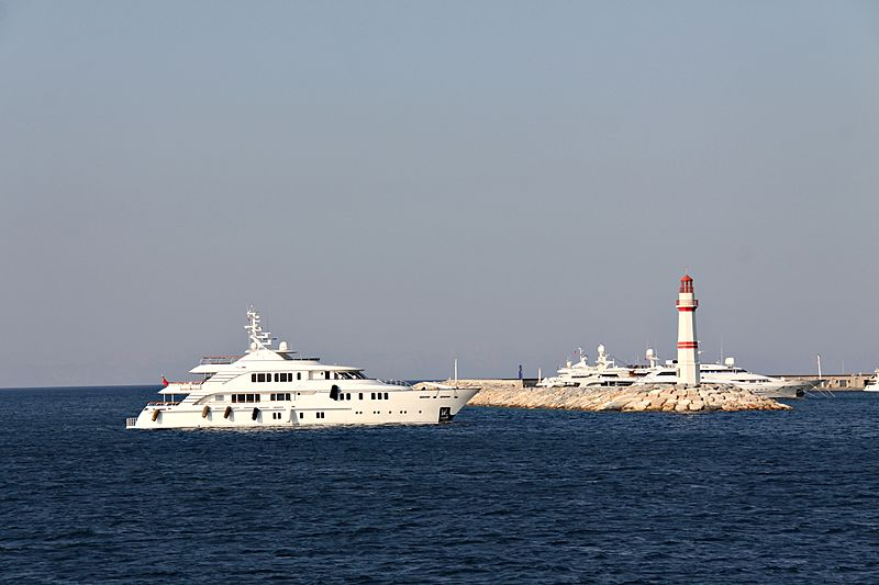 Mystic yacht off DIdim