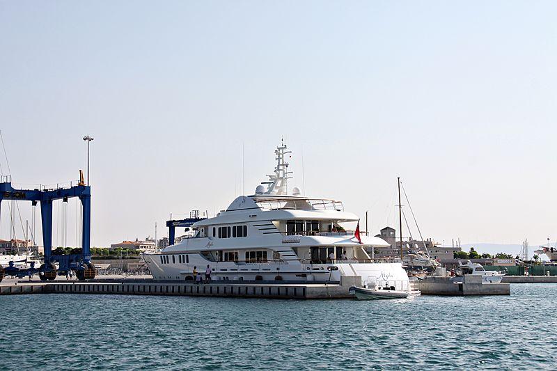 Mystic yacht in DIdim
