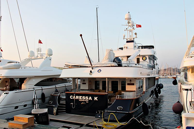 Caressa K yacht in Palmarina