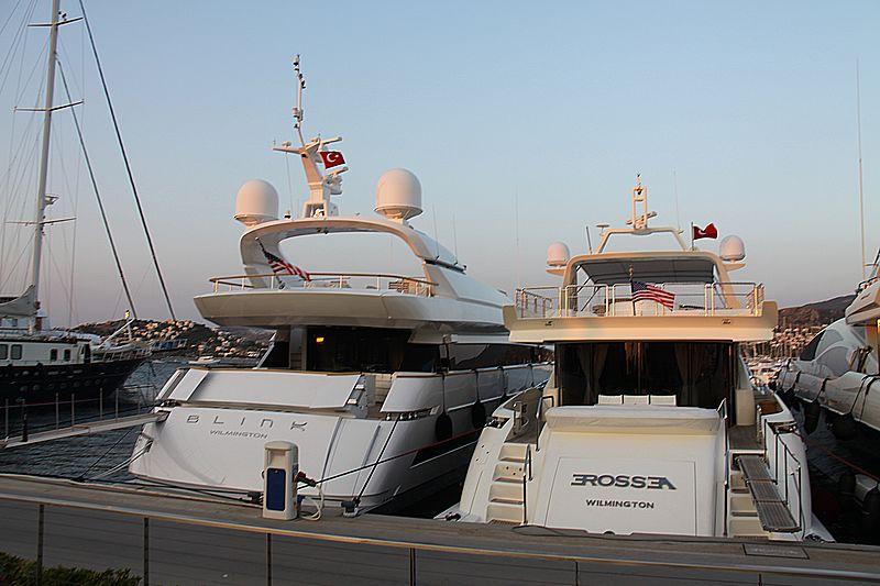 Blink and Erossea yachts in Palmarina Bodrum