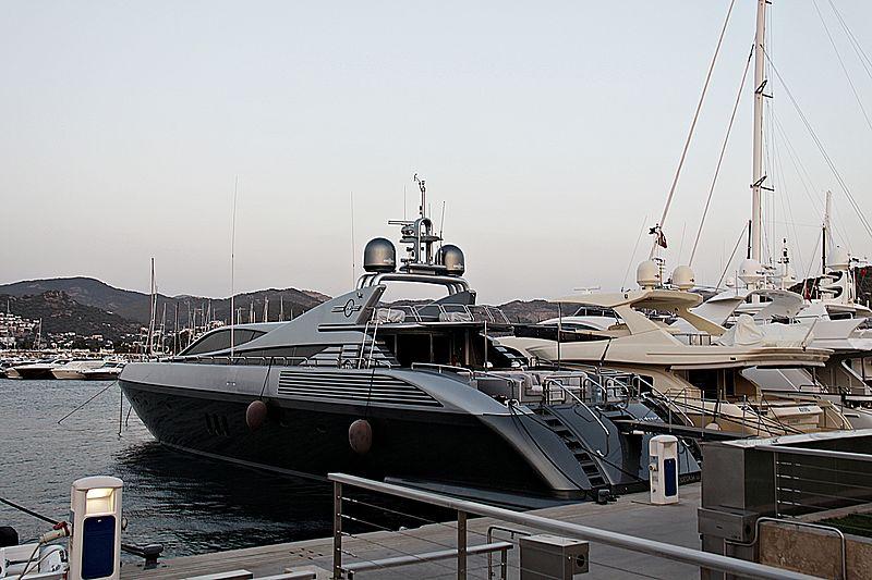 Exxtreme yacht in Palmarina