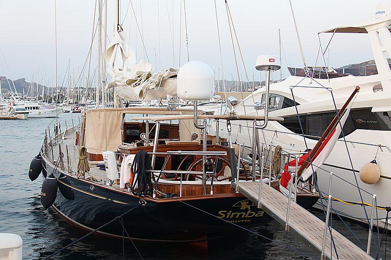 Simba yacht in Palmarina