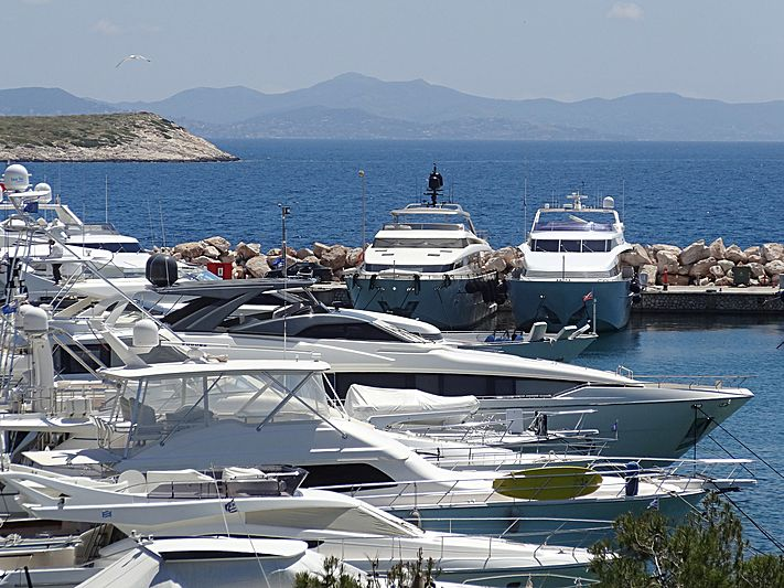 AGIOS NIKOLAOS yacht Ferretti Yachts