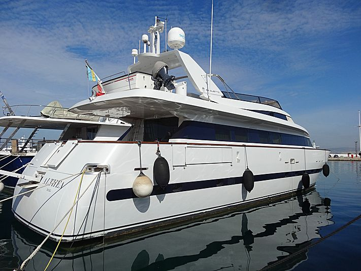 ALTHEA yacht Baglietto