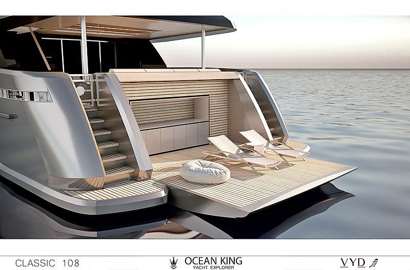 Ocean King Classic 108 yacht