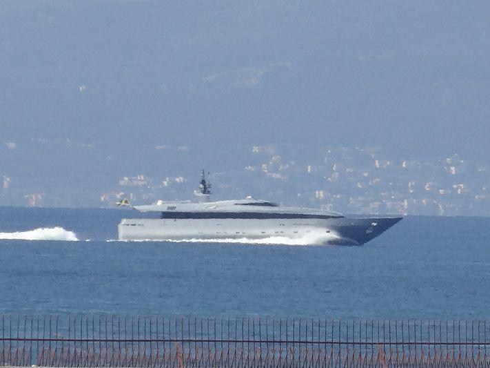 TIN TIN yacht Baglietto