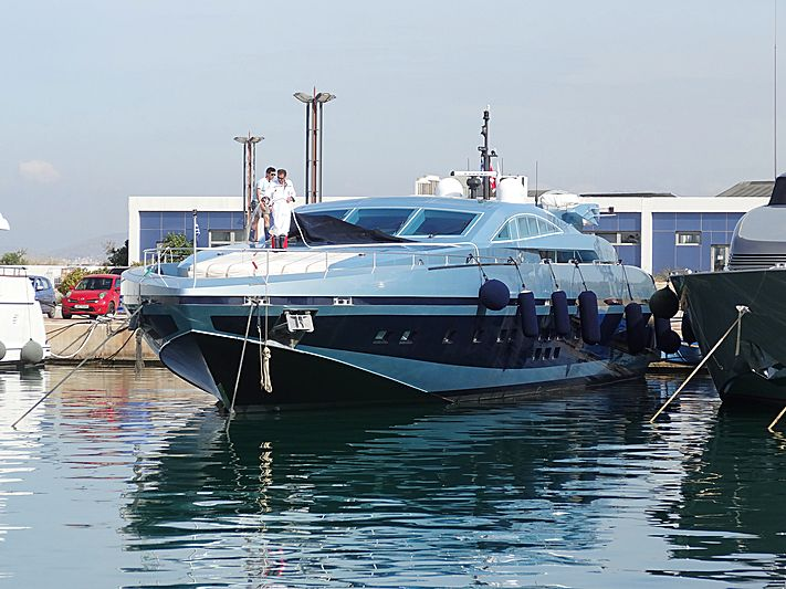 Blue Princess Star yacht in Athens