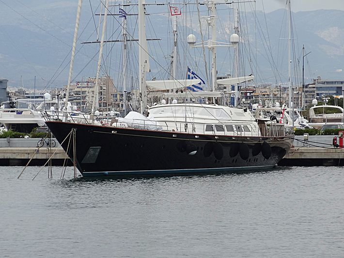 Corelia yacht in Athens