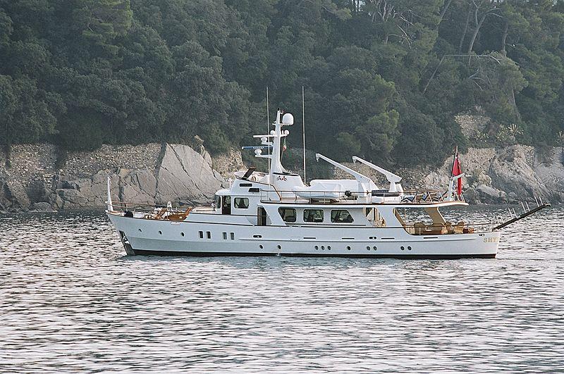 Shyraga yacht cruising