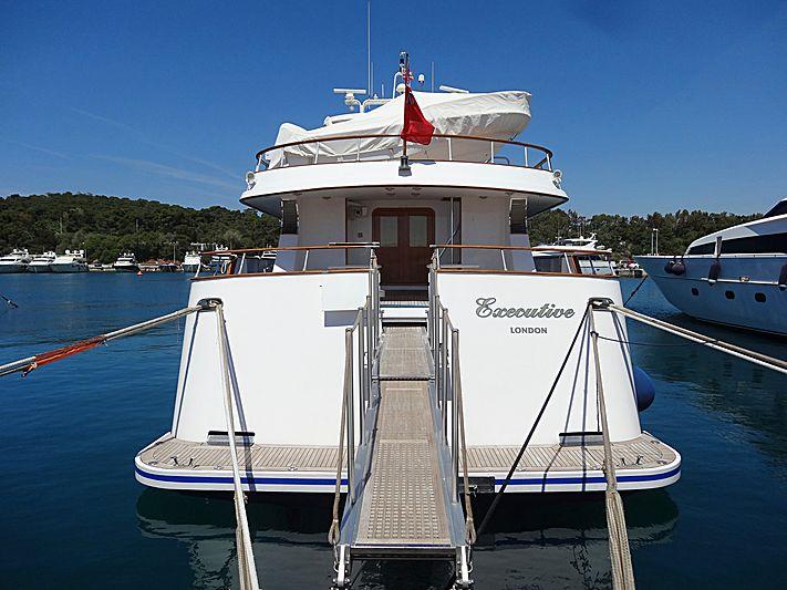 Excecutive yacht in Vouligmeni