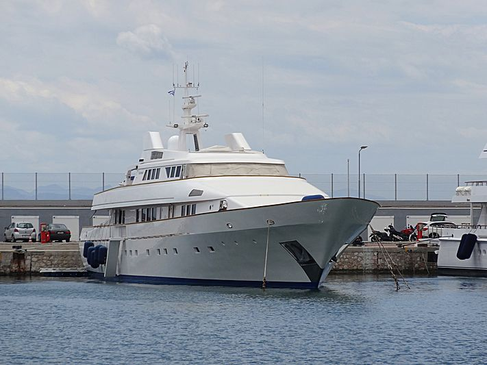 Fantasia yacht in Athens