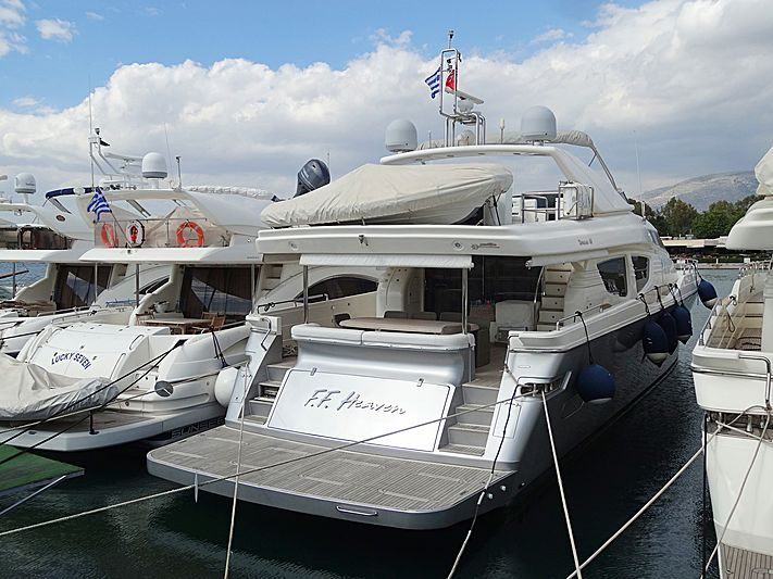 FF Haven yacht in Athens