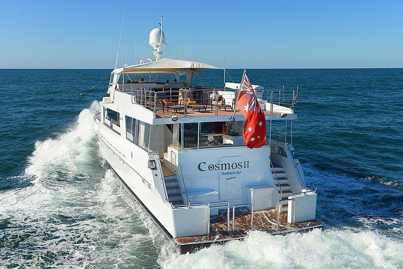 Cosmos II yacht cruising