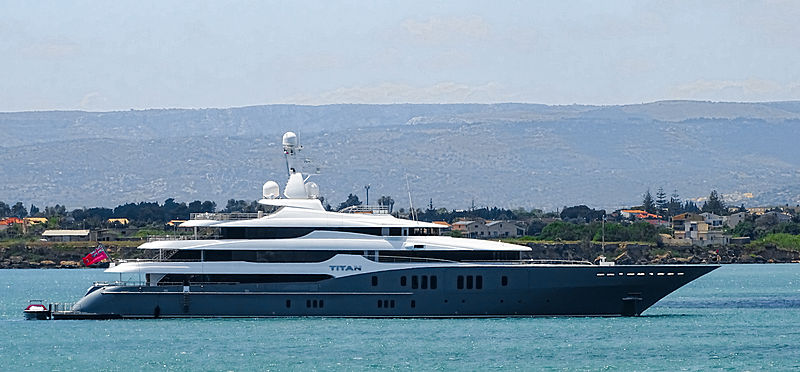 Titan yacht by Abeking & Rasmussen in Siracusa, Italy