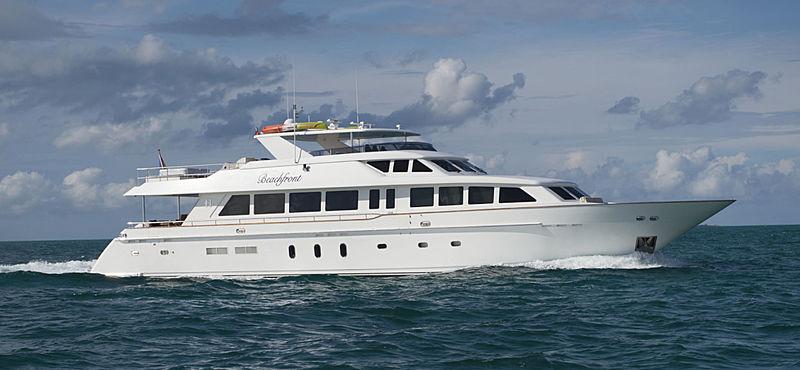 Beachfront yacht profile