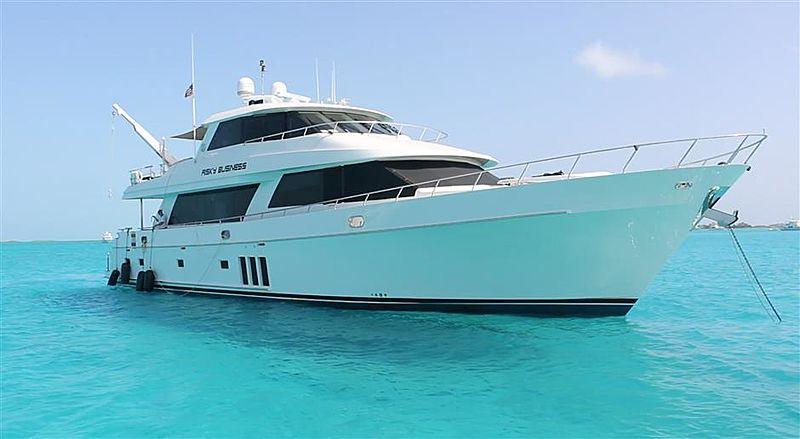 AURA yacht Ocean Alexander
