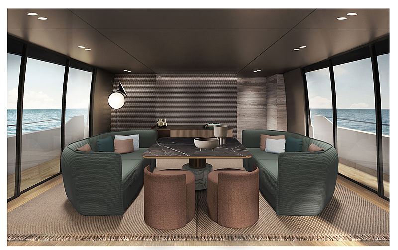 SanLorenzo SD96 interior design