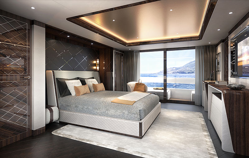 Dynamiq Global 330 yacht interior design