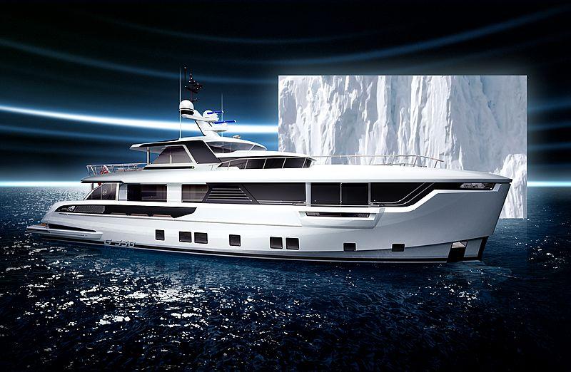 Dynamiq Global 330 yacht exterior design