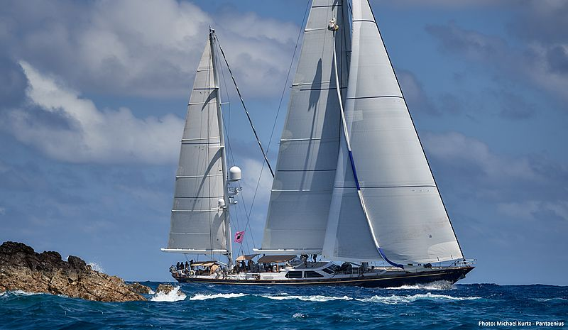 Blue Too yacht cruising