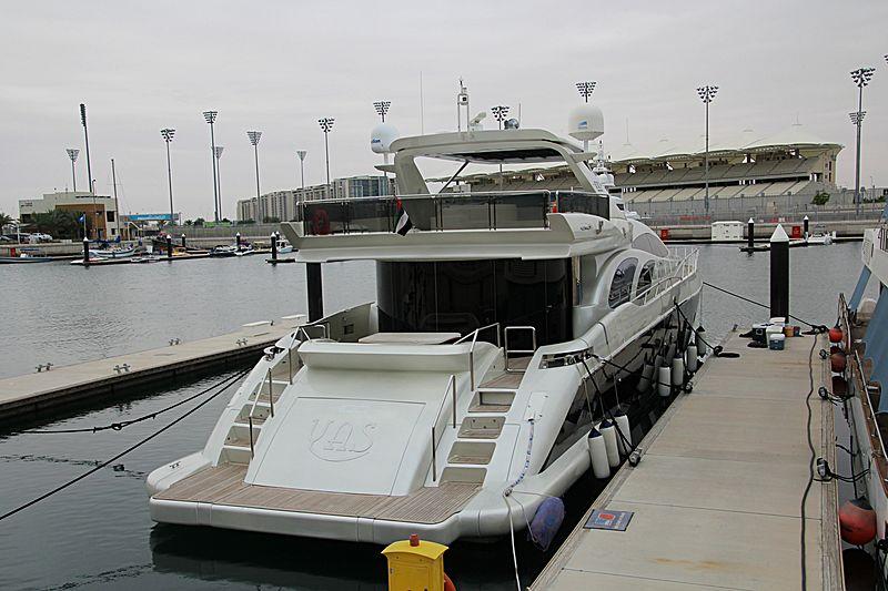 YAS yacht Azimut