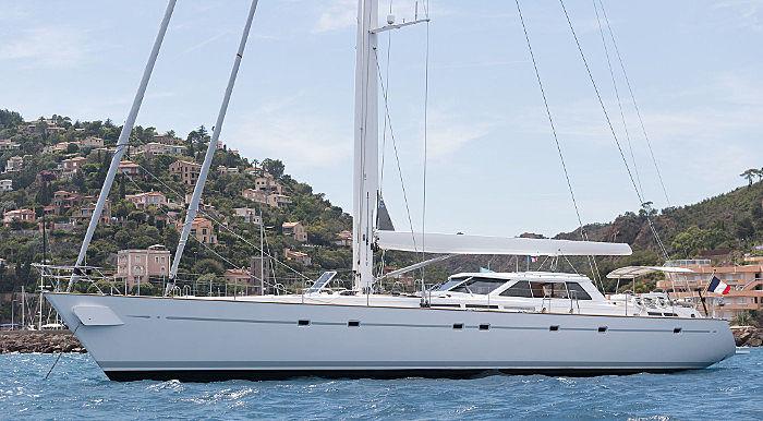 NEPTUNE III yacht Fitzroy