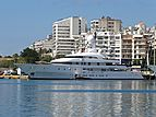 Ilona yacht in Piraeus