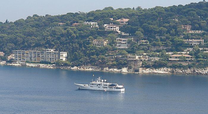 Sanssouci Star yacht cruising