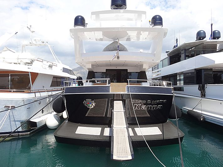 Kappa yacht in Athens