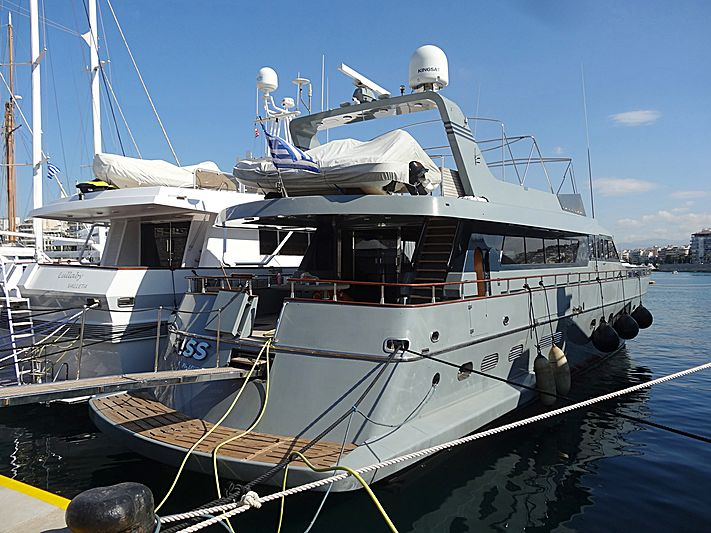 KISS  yacht Canados