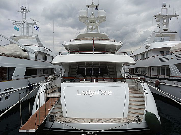 Lady Dee yacht in Athens