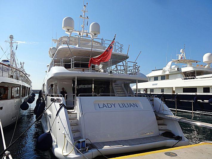 Lady Lilian yacht in Piraeus
