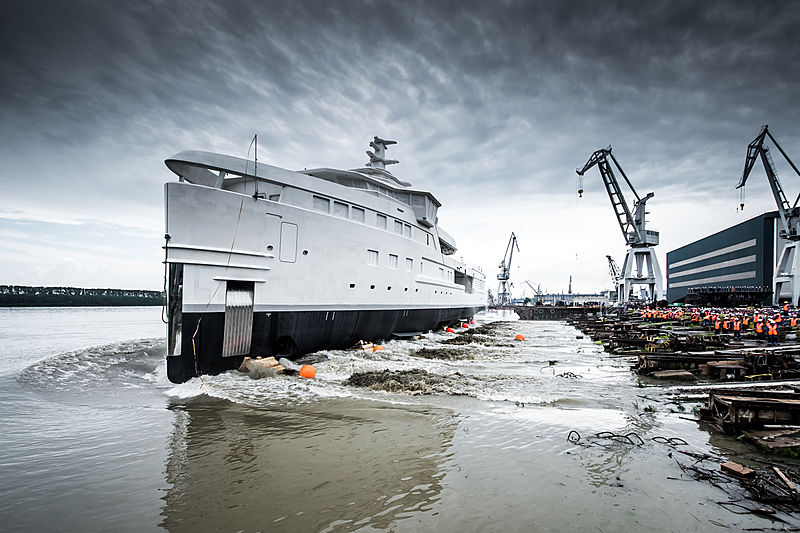 Damen SeaExplorer La Datcha technical launch in Galati