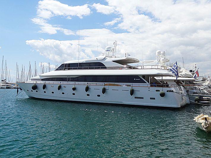 LET IT BE yacht Tecnomarine
